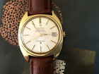 Vintage 1968 Gold cap Omega Constellation Automatic men's watch, Ref 168 017