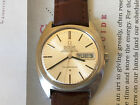 Vintage 1969 SS Omega Constellation Day Date men's watch, beautiful orig dial