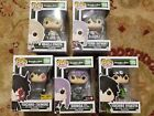 Funko Pop! Seraph of the End Lot of 5 Hot Topic and Gamestop Exclusive