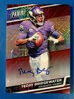 2016 Panini National Convention #47 Teddy Bridgewater 15 Auto