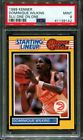 1989 STARTING LINEUP ONE ON ONE DOMINIQUE WILKINS HOF PSA 9 K2620594-142
