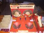 Vintage Hot Wheels Sizzlers Race Track Track 3 Tunnels Speedometer Road Control