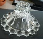 Set of 5 Vintage Boopie Glass Taper Candle Stick Holders Anchor Hocking