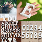26 Wooden Freestanding Number Letters Alphabet Wedding Party Home Shop DIY Decor