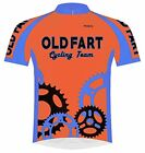 Primal Wear Old Fart Cycling Team Sprockets Jersey Mens 5XL Short Sleeve Bright