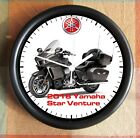 YAMAHA STAR VENTURE 2018 Motorcycle BIG 10 Inch Wall clock New Licensed