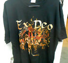 New Ex Deo Roma Victory Death Metal Band XL Shirt, Amon Amarth Kataklysm Therion