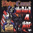 BODY COUNT - MURDER 4 HIRE CD BRAND NEW SEALED