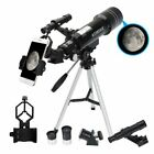 Refractor Astronomical Telescope Optical Prism W Tripod Phone Adapter US STOCK