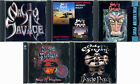 LOT OF 5 NASTY SAVAGE CD's Anthology w.o live album '2003 - GREAT CONDITION