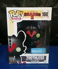 FUNKO POP! HOW TO TRAIN YOUR DRAGON 2 TOOTHLESS #100 WALMART EXCLUSIVE NEW