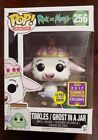 Funko POP! Rick & Morty TINKLES GHOST IN A JAR #256 SDCC Exclusive Glows in Dark