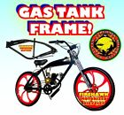 USA SELLER NEW 2018 48 50 80 CC GAS TANK FRAME BIKE MOTOR BICYCLE SCOOTER MOPED