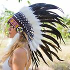 Adults Crafts Feather Headdress Native American Indian Inspired Real feathers