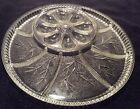 Indiana Glass Deviled Egg Plate/Dish Vegetable Tray Vintage