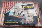 Vintage Libbey's Circus Hostess Set 8 Glass Original Box