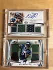 Nick Foles 2012 Topps Prime Rookie Auto Patch#123 250!PatchCard#44 146!S.B.M.V.P