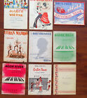 Lot of 9 EASY PIANO SHEET MUSIC & BOOK '30'S - '60'S CJRISTMAS EASTER
