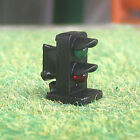 4 x HO OO scale 2 aspects railroad LED dwarf signals 2 lights block signal lamp
