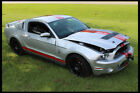 2011 Ford Mustang 2011 FORD MUSTANG SHELBY GT500 Salvage Title REBUILDER RUN DRIVE 6 SPEED MANUAL