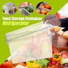 Kitchen Food Transparent Storage Box Refrigerator Cabinet Organizer With Handle
