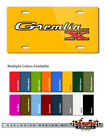 AMC Gremlin X 1970 1978 Vintage Emblem Novelty 6X12 Alu. License Plate 16 Colors