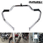 Mustache Engine Guard Crash Bar For Harley Touring Street Glide FLHX 2009-2019