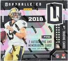 2018 Panini Unparalleled Football Hobby Box - Factory Sealed!