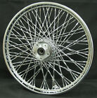 Chrome 80 Twisted Spoke 21 x 215 Front Wheel for Harley Softail FXDWG 84 99