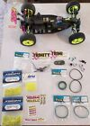 team losi xx-4 xx4 vintage 4wd buggy rolling chassis, roller.