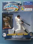 Jeff Bagwell MLB Houston Astros Hall of Famer Starting Lineup2 2001 Extended