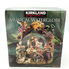 Kirkland Signature Figurine Musical Nativity Waterglobe 109619 Free Shipping