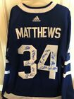 Toronto Maple Leafs Autographed Blue Adidas Authentic Jersey