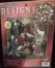 NEW NATIVITY FIGURES Janlynn Designs For The Needle CHRISTMAS Cross Stitch