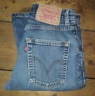 Ladies Blue Stonewashed LEVI 525 W28 L30 Vintage Bootcut Denim Jeans 525s