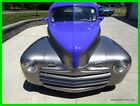 1948 Ford Super Deluxe Hot Rod Street Rod Old School Ford Air Conditioned 1948 Ford FAT FENDERED Hot Rod Coupe Air Conditioned Well Built Low Reserve