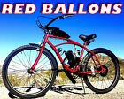 RED BALLOONS 50 80 CC GAS MOTOR MOTORIZED ENGINE  26 BIKE BICYCLE MOPED SCOOTER
