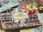 Fifth Avenue Crystal Lazy Susan Serving Set new