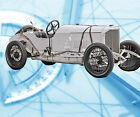 AUTO  Drawings Scale 1/12 1/16 1/24 1/32 Mercedes 1914 41/2 L Digital plan on cd