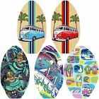 Skim Board Wooden Skimboard 30 Oval Surf Skimmer 7 Ply Wood Surfing