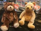 Ty Jingle Beanies-Cornbread The Bear & Old Timer-MWMT and NEW!!