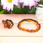 ADULT BALTIC AMBER NECKLACE RAW RAINBOW PAIN RELIEVE ANTI INFLAMMATORY