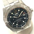 AUTHENTIC BREITLING Super Ocean Date Wristwatch Silver Stainless Steel A17390