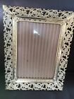 Metal Picture Frames Table Top Easel Style with glass 61/2 X 5