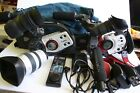 CANON XL2 XL1 big lot working plenty of extras  good condition classic cameras