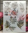 Leaves A4 DIY Craft Layering Stencils Wall Paint Scrapbooking Stamping Embossing