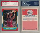 Charles Barkley HOF 1986-87 Fleer #32 Rookie Card rC PSA 8 COMBINE SHIPPING