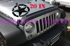 Military Army Star Jeep Stripe Decal 20x20 Boat Sticker Vynil Graphics Fit Car