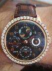 IWC 5021 Portuguese Perpetual 2.5 carats DIAMOND IW5021 Dual Moon 18kt Rose Gold