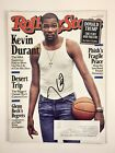 Kevin Durant Warriors November 3, 2016 Rolling Stone Signed Autographed COA
